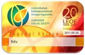 LEOE tagsági kártya