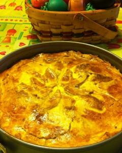 húsvéti zöldséges pite