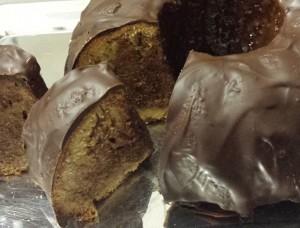 gluténmentes csokoládés márvány kuglóf