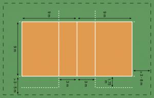 röplabda pálya
