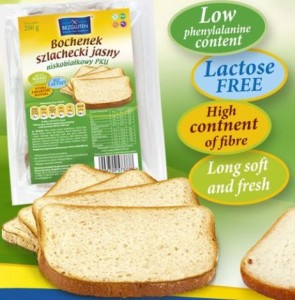Bezgluten c281 Pku kenyér