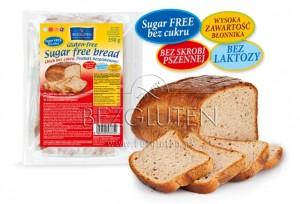 Bezgluten glutén és cukormentes kenyér
