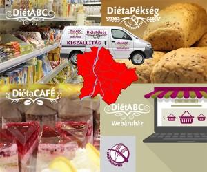 Gluténmentes kiszállítás budapest minden kerületeibe