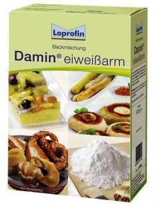 loprofin damin alacsony fehérjetartalmú liszt