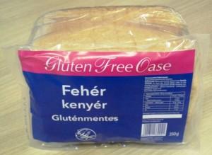 oase fehér kenyér gluténmentes
