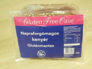 oase gluténmenets napraforgómagos kenyér