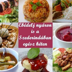 szederinda nyári étel kedvezmény
